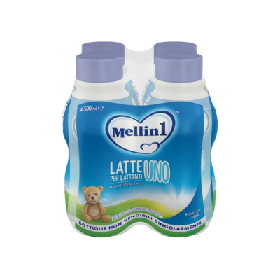 Latte Mellin 1 Liquido 4X500ml