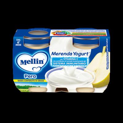 Merenda Pera e Yogurt*