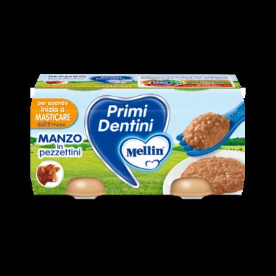 Primi Dentini manzo in pezzettini