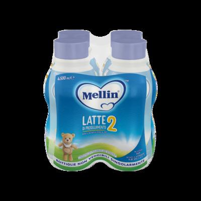 Latte Mellin 2 Liquido 4X500ml