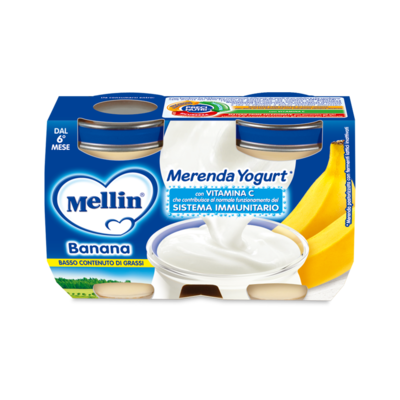 Merenda Banana e Yogurt*
