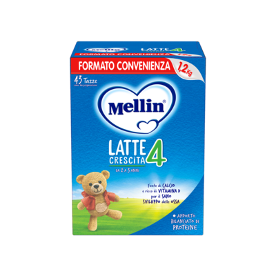Mellin Latte Crescita 4 in polvere Confezione Risparmio