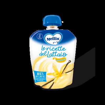 Merenda latte vaniglia