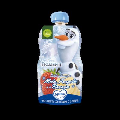 MERENDA FROZEN 2 OLAF - 100% FRUTTA CON VITAMINA C: MELA, FRAGOLA E BANANA