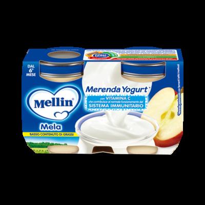 Merenda Mela e Yogurt*